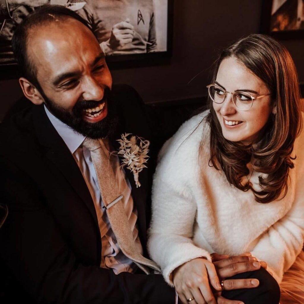Hochzeitspapeterie mit Maya und Rainer
