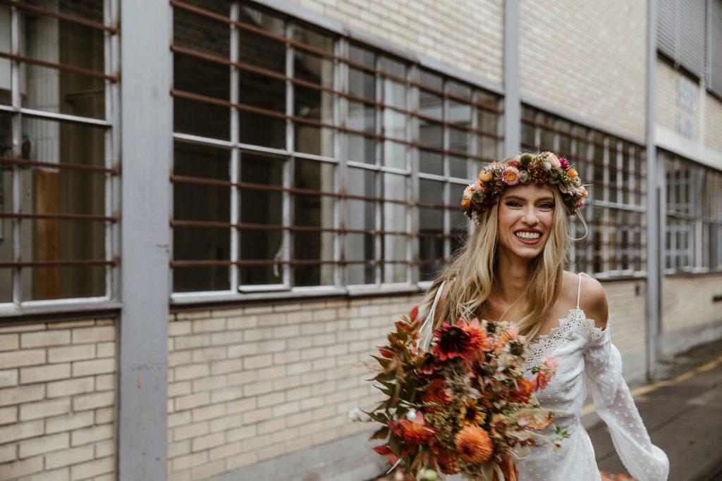 Hochzeitsinspiration Herbsthochzeit