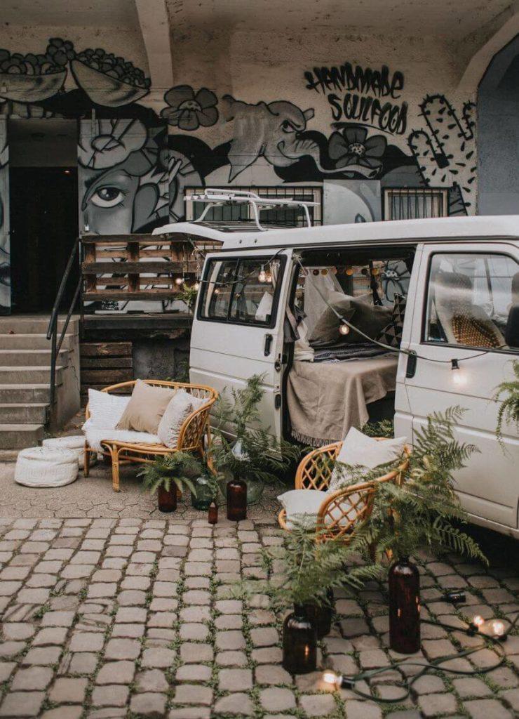 Hochzeitsinpiration Hochzeitsbus