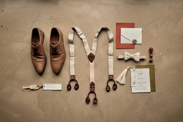 Herrenaccessoires Hochzeitsinspiration