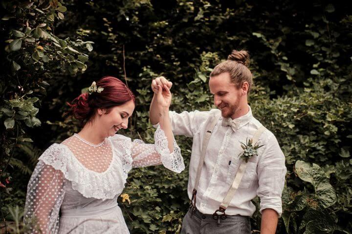 Hochzeitsinspiration nachhaltige Hochzeit