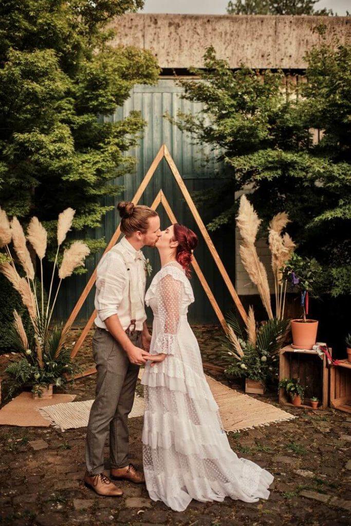 Hochzeitsinspiration freie Trauung