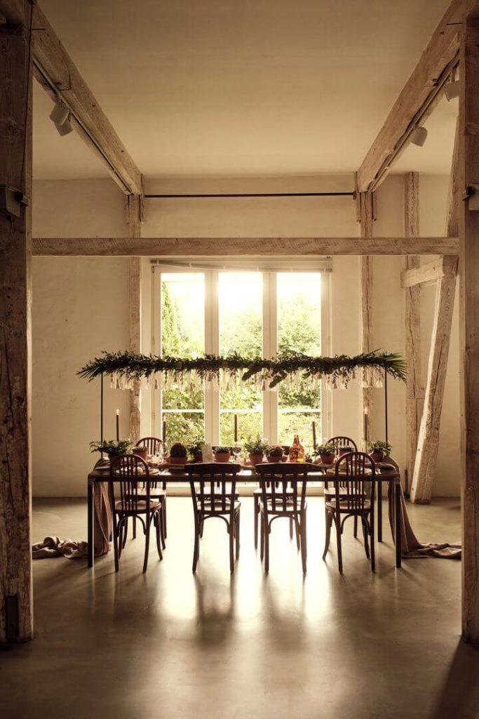 Tischdekoration Nachhaltig Heiraten