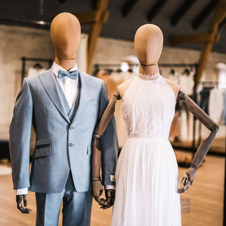 Nachhaltiges Hochzeitsoutfit