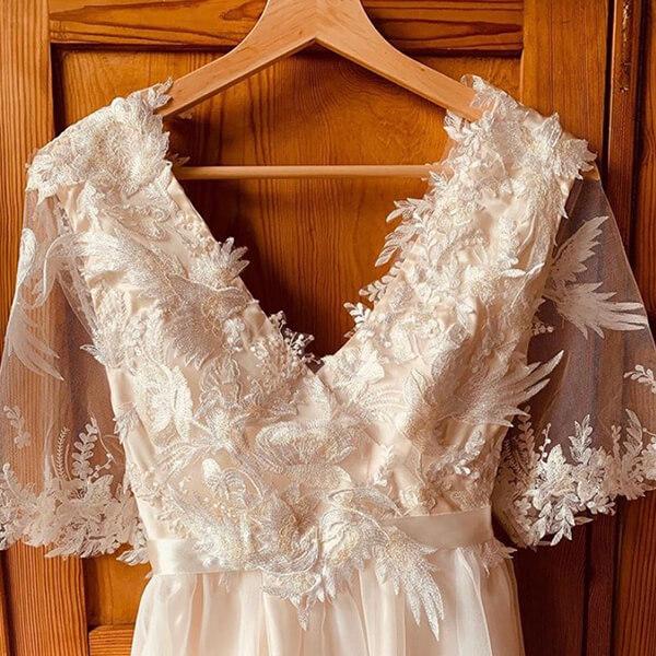 Nachhaltiges Brautkleid