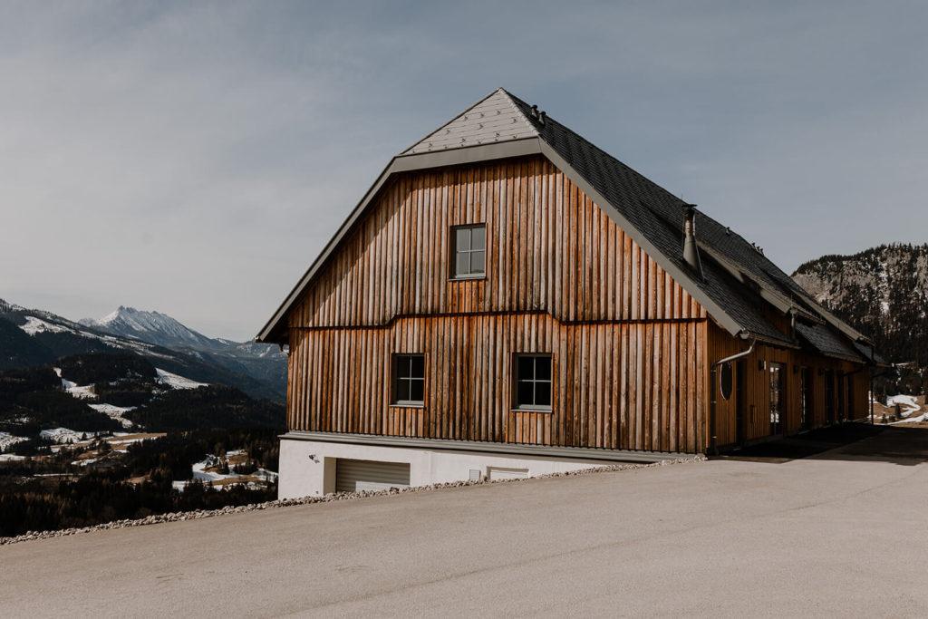 Hochzeitslocation in den Bergen