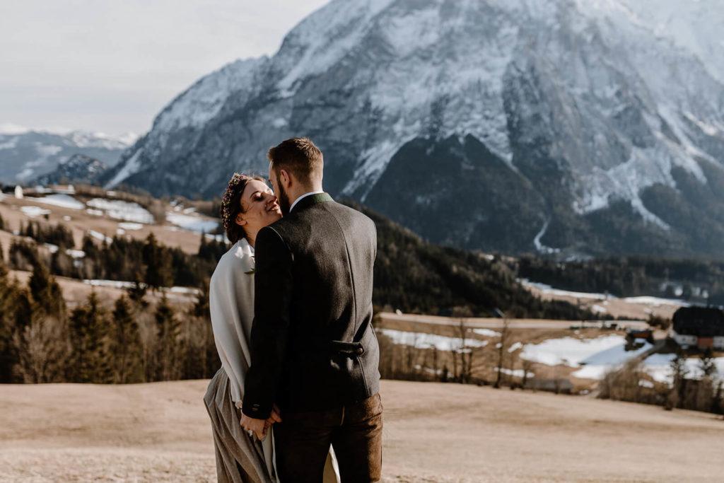 Hochzeitsinspiration Brautpaar